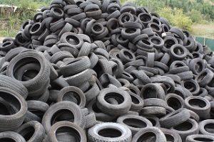Неправилно съхранявани гуми