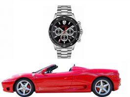 часовници с марки на автомобили